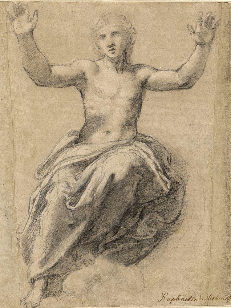 konfigurieren des Kunstdrucks in Wunschgröße Christ in Glory von Sanzio, Raffaello