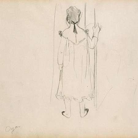 konfigurieren des Kunstdrucks in Wunschgröße Brothel Scene von Degas, Edgar