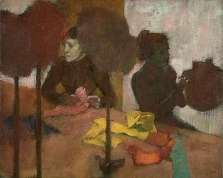 konfigurieren des Kunstdrucks in Wunschgröße The Milliners von Degas, Edgar