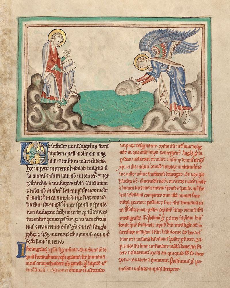 Illuminator, Unknown 13th Century
