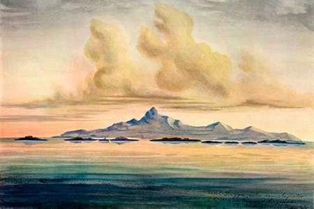 """konfigurieren des Kunstdrucks in Wunschgröße Lingga-Inseln Im Meer von Insulinde, unter dem Ã""""quator von Haeckel, Ernst"""