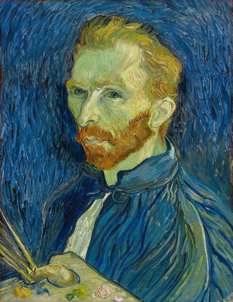 konfigurieren des Kunstdrucks in Wunschgröße Self-Portrait, 1889 von Van Gogh, Vincent