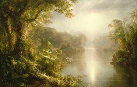 konfigurieren des Kunstdrucks in Wunschgröße El Rio de Luz (The River of Light), 1877 von Einzelbilder