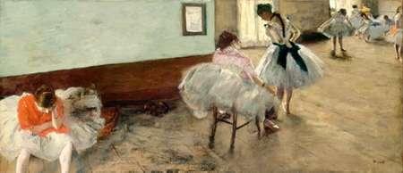 konfigurieren des Kunstdrucks in Wunschgröße The Dance Lesson, c. 1879 von Degas, Edgar