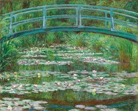 konfigurieren des Kunstdrucks in Wunschgröße The Japanese Footbridge, 1899 von Monet, Claude