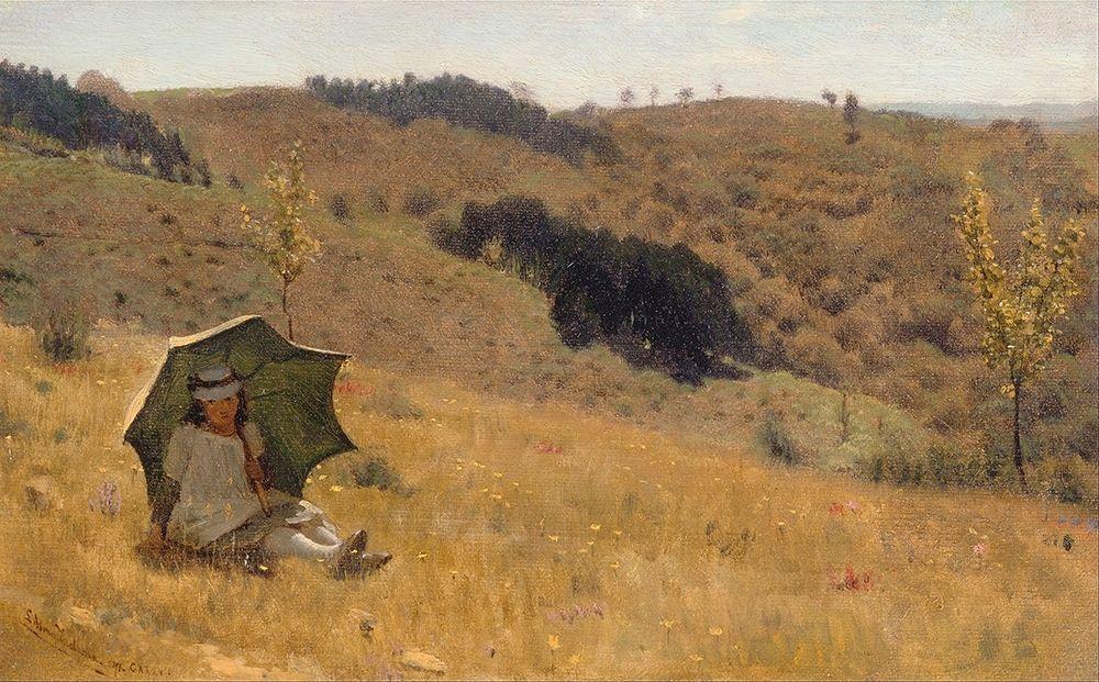 konfigurieren des Kunstdrucks in Wunschgröße Sunny Days, 1874 von Alma-Tadema, Sir Lawrence