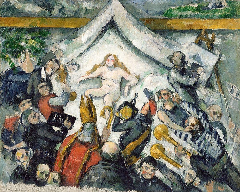 konfigurieren des Kunstdrucks in Wunschgröße The Eternal Feminine von Cezanne, Paul