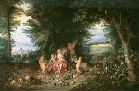 konfigurieren des Kunstdrucks in Wunschgröße Landscape with Ceres (Allegory of Earth) von Einzelbilder