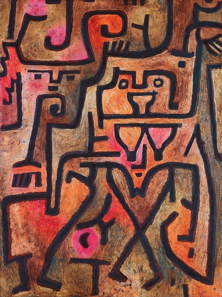konfigurieren des Kunstdrucks in Wunschgröße Forest Witches, 1938 von Klee, Paul
