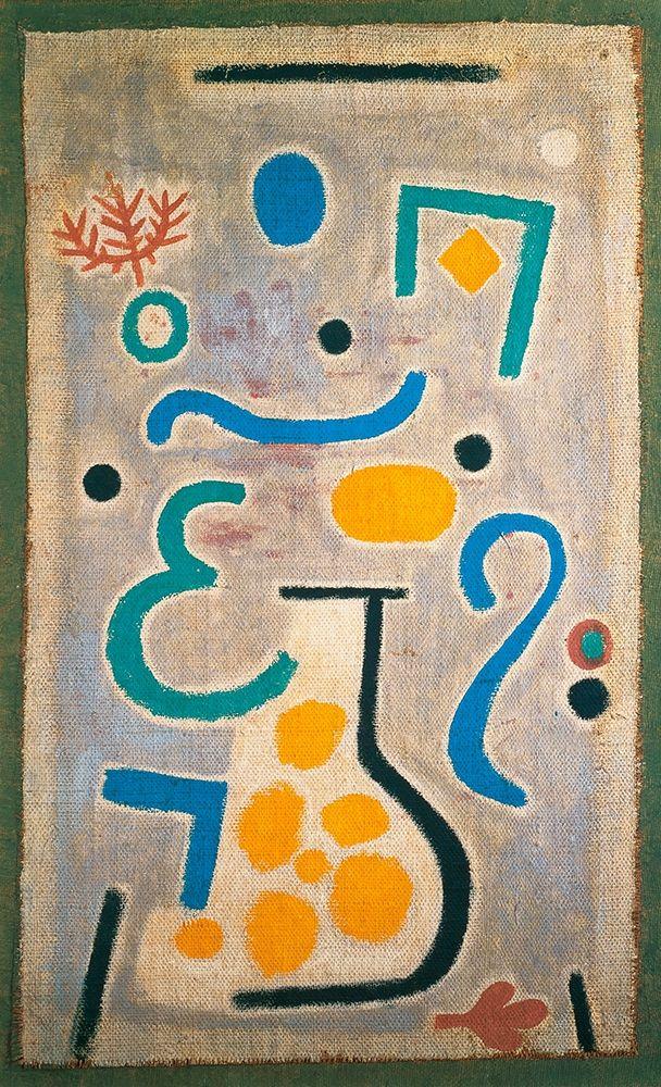 konfigurieren des Kunstdrucks in Wunschgröße The Vase, 1938 von Klee, Paul