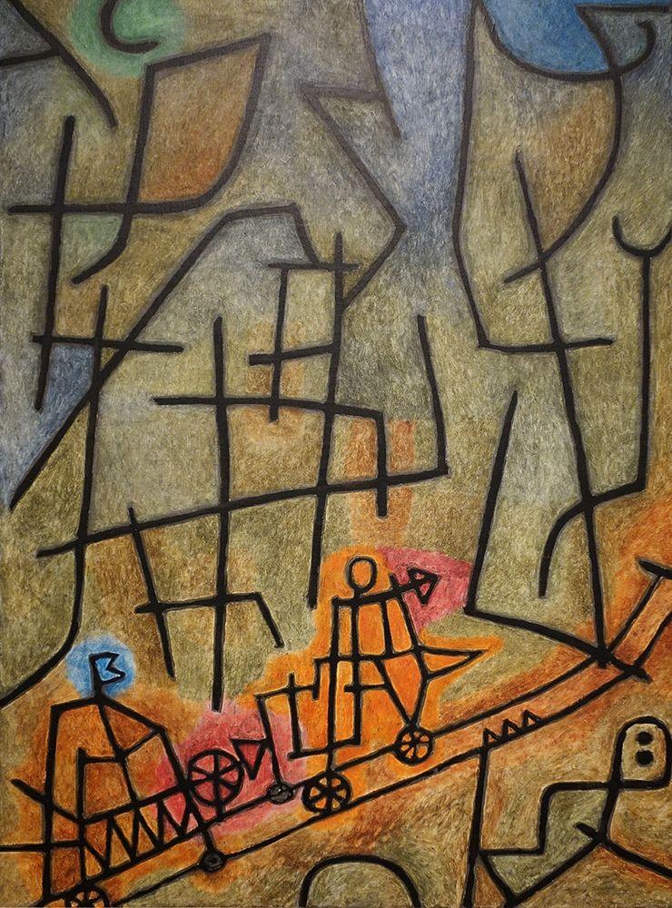 konfigurieren des Kunstdrucks in Wunschgröße Conquest of the Mountain, 1939 von Klee, Paul