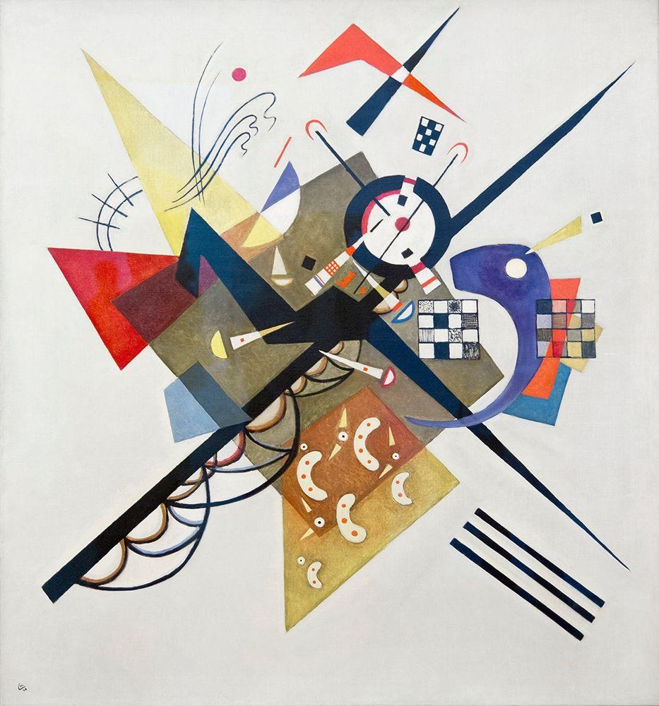 konfigurieren des Kunstdrucks in Wunschgröße On White II, 1923 von Kandinsky, Wassily