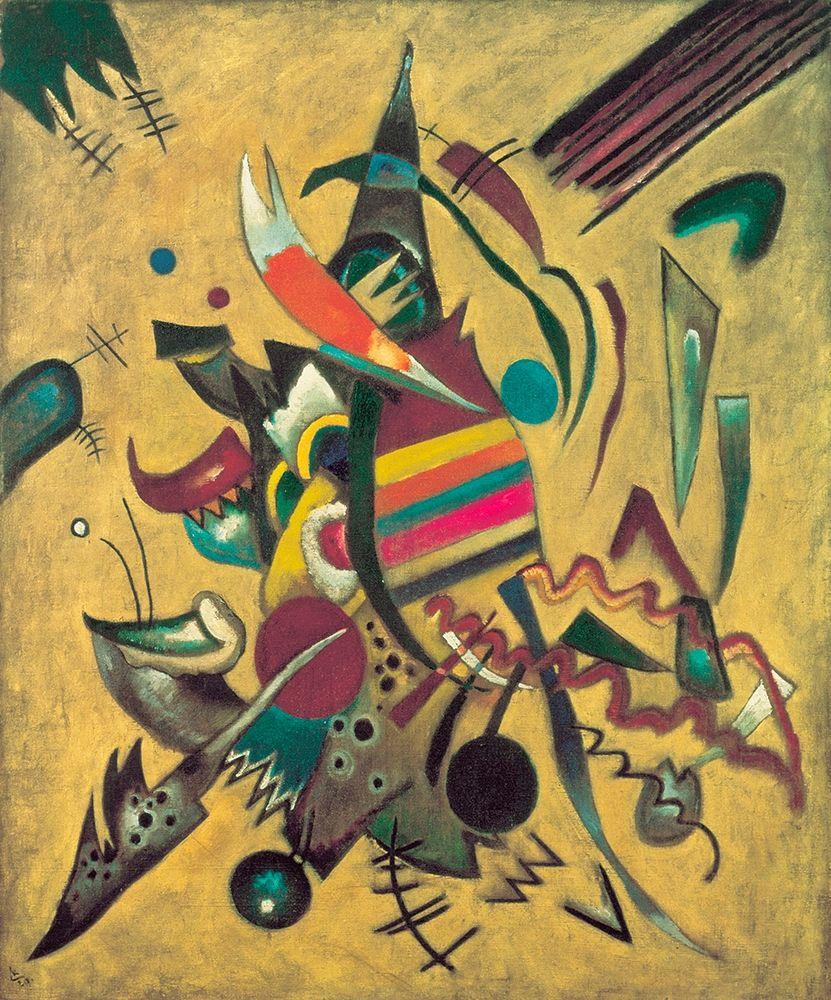 konfigurieren des Kunstdrucks in Wunschgröße Points, 1920 von Kandinsky, Wassily