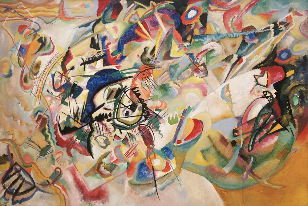konfigurieren des Kunstdrucks in Wunschgröße Composition VII, 1913 von Kandinsky, Wassily
