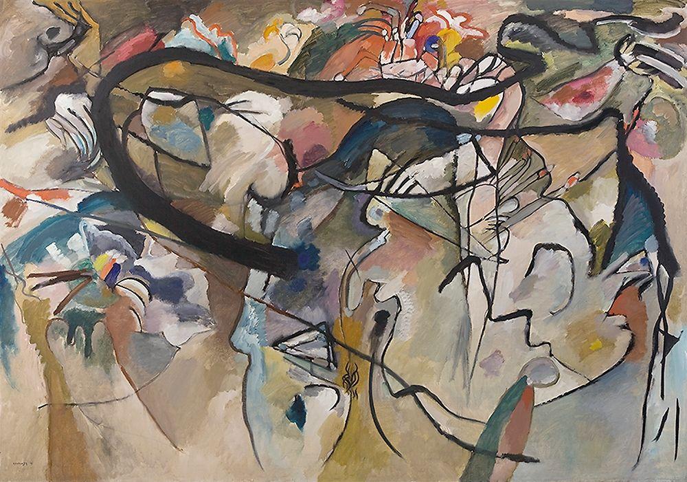 konfigurieren des Kunstdrucks in Wunschgröße Composition V, 1911 von Kandinsky, Wassily