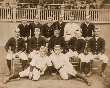 Philadelphia Baseball Club, 1887 von A.G. Spalding Baseball Collection <br> max. 102 x 81cm <br> Preis: ab 10€