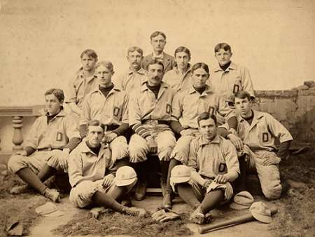 Dartmouth College, D., 1896 von A.G. Spalding Baseball Collection <br> max. 81 x 61cm <br> Preis: ab 10€