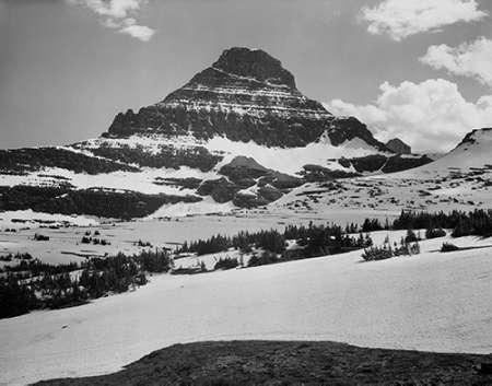 konfigurieren des Kunstdrucks in Wunschgröße View from Logan Pass, Glacier National Park, Montana - National Parks and Monuments, 1941 von Adams, Ansel