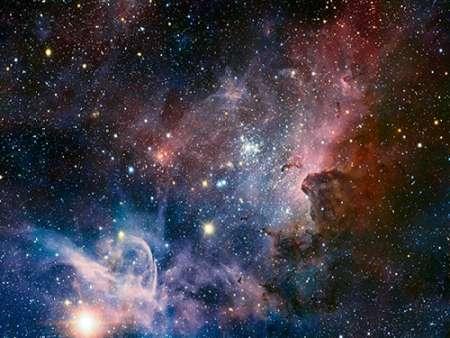 konfigurieren des Kunstdrucks in Wunschgröße Carina Nebula Infrared from HAWK-I von Einzelbilder