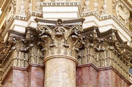 konfigurieren des Kunstdrucks in Wunschgröße Main Reading Room. Detail of capitals of engaged columns. Library of Congress Thomas Jefferson Build von Highsmith, Carol