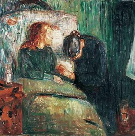The Sick Child, 1907 von Munch, Edvard <br> max. 56 x 56cm <br> Preis: ab 10€