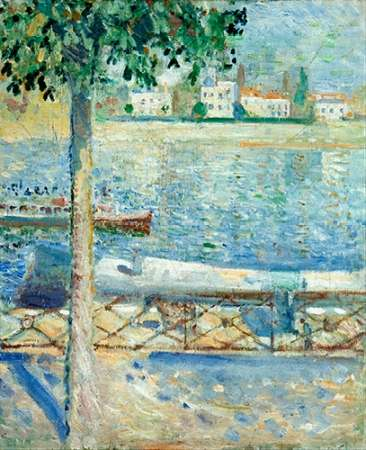 The Seine at Saint-Cloud, 1890 von Munch, Edvard <br> max. 58 x 74cm <br> Preis: ab 10€