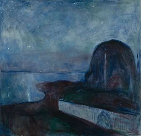 Starry Night, 1983 von Munch, Edvard <br> max. 61 x 61cm <br> Preis: ab 10€