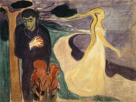 konfigurieren des Kunstdrucks in Wunschgröße Separation, 1896 von Munch, Edvard