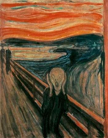 The Scream, 1893 von Munch, Edvard <br> max. 48 x 64cm <br> Preis: ab 10€
