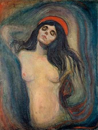 Madonna, 1894 von Munch, Edvard <br> max. 53 x 71cm <br> Preis: ab 10€