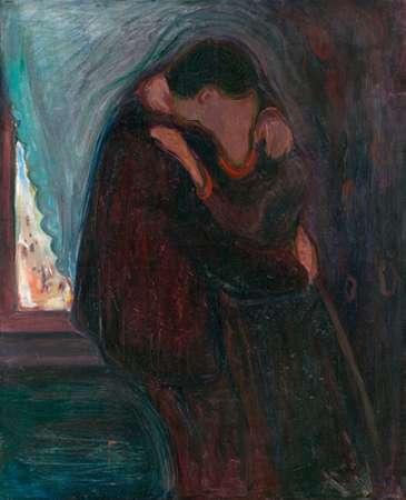 The Kiss, 1897 von Munch, Edvard <br> max. 41 x 51cm <br> Preis: ab 10€