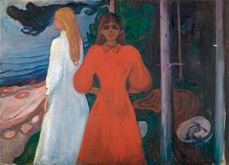 konfigurieren des Kunstdrucks in Wunschgröße Red and White, 1899-1900 von Munch, Edvard
