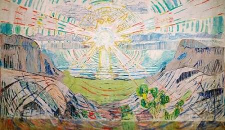 konfigurieren des Kunstdrucks in Wunschgröße The Sun, 1910-1911 von Munch, Edvard