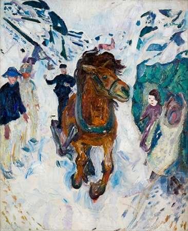 Galloping Horse, 1910-1912 von Munch, Edvard <br> max. 61 x 76cm <br> Preis: ab 10€