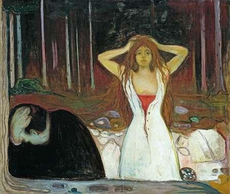 Ashes, 1895 von Munch, Edvard <br> max. 64 x 53cm <br> Preis: ab 10€
