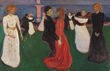 konfigurieren des Kunstdrucks in Wunschgröße The Dance of Life, 1900 von Munch, Edvard