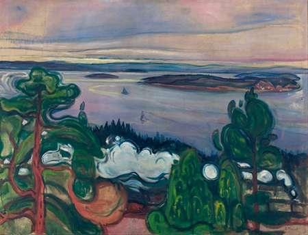 Train Smoke, 1900 von Munch, Edvard <br> max. 51 x 38cm <br> Preis: ab 10€