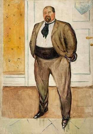Consult Museumisten Sandberg, 1901 von Munch, Edvard <br> max. 43 x 64cm <br> Preis: ab 10€