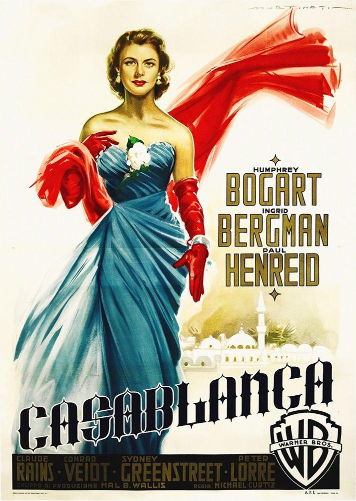 konfigurieren des Kunstdrucks in Wunschgröße Casablanca 1941 von Hollywood Photo Archive