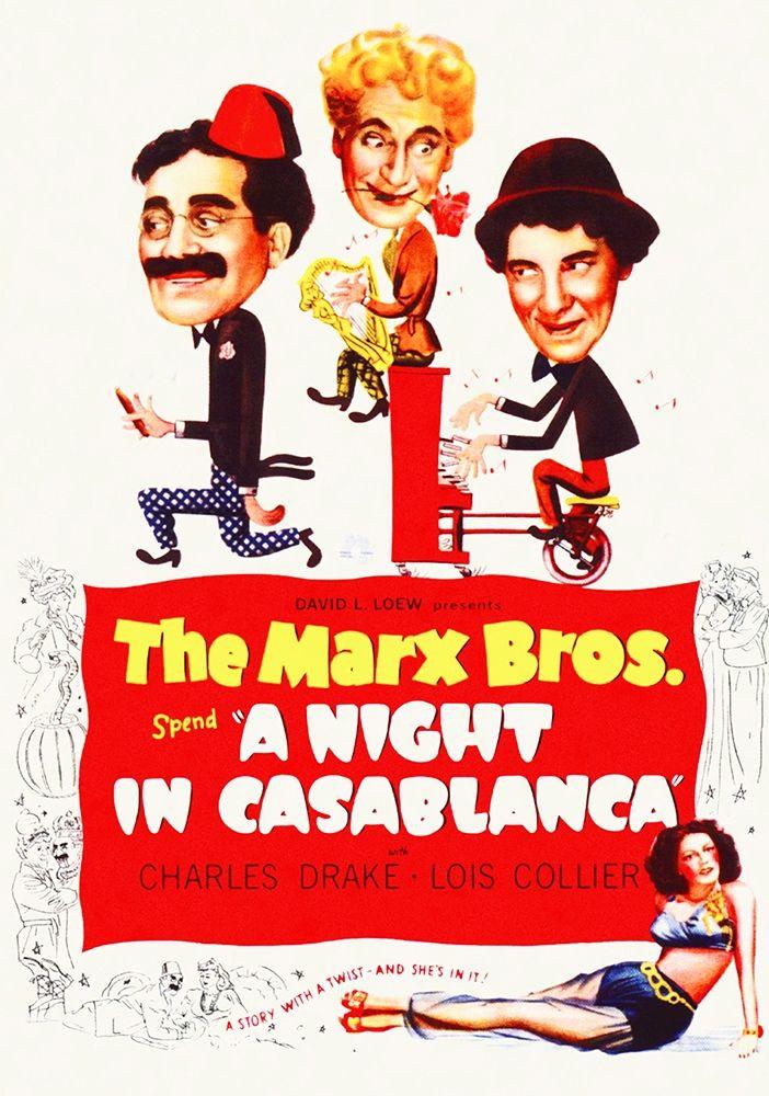 konfigurieren des Kunstdrucks in Wunschgröße Marx Brothers - A Night in Casablanca 02 von Hollywood Photo Archive