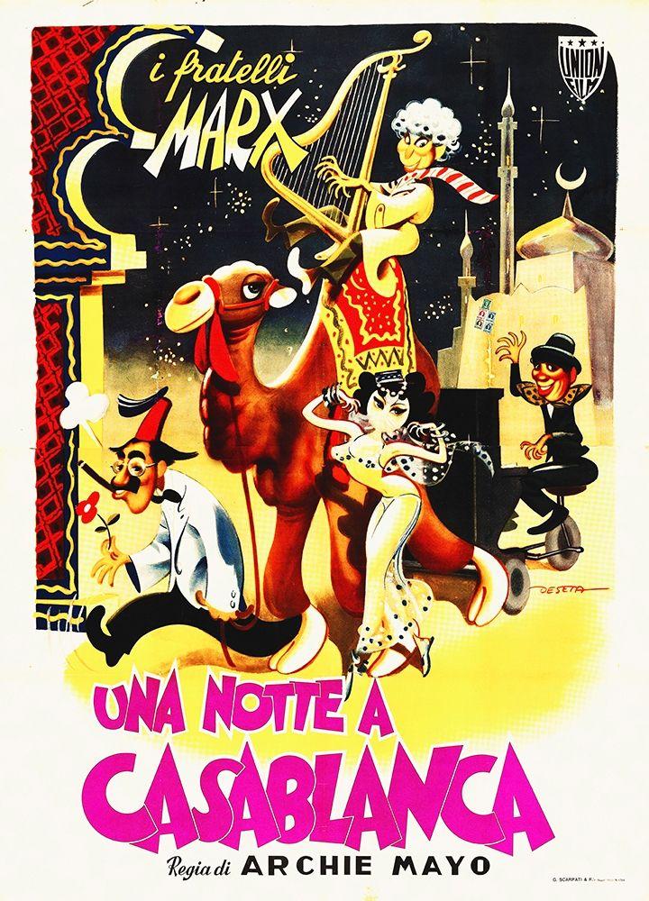 konfigurieren des Kunstdrucks in Wunschgröße Marx Brothers - Italian - A Night in Casablanca 01 von Hollywood Photo Archive