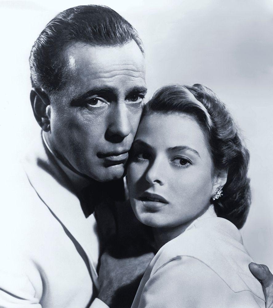 konfigurieren des Kunstdrucks in Wunschgröße Humphrey Bogart with Ingrid Bergman - Casablanca von Hollywood Photo Archive