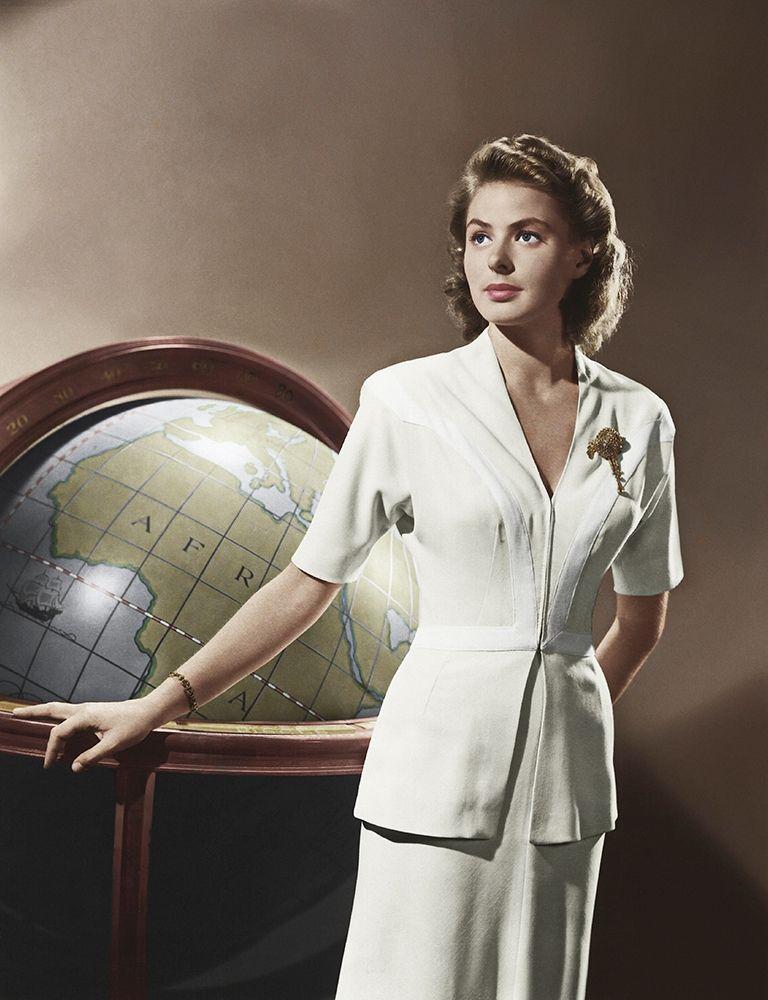 konfigurieren des Kunstdrucks in Wunschgröße Ingrid Bergman - Casablanca von Hollywood Photo Archive