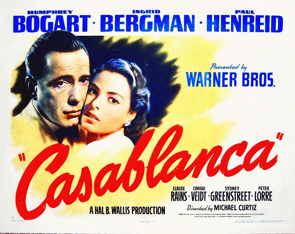 konfigurieren des Kunstdrucks in Wunschgröße Casablanca von Hollywood Photo Archive