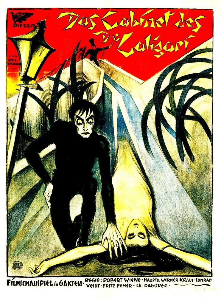 konfigurieren des Kunstdrucks in Wunschgröße German - The Cabinet of Dr. Caligari von Hollywood Photo Archive