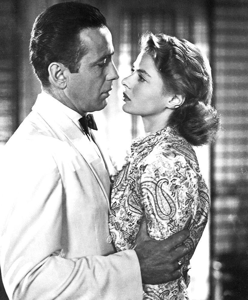konfigurieren des Kunstdrucks in Wunschgröße Borgart and Bergman in Casablanca von Hollywood Photo Archive