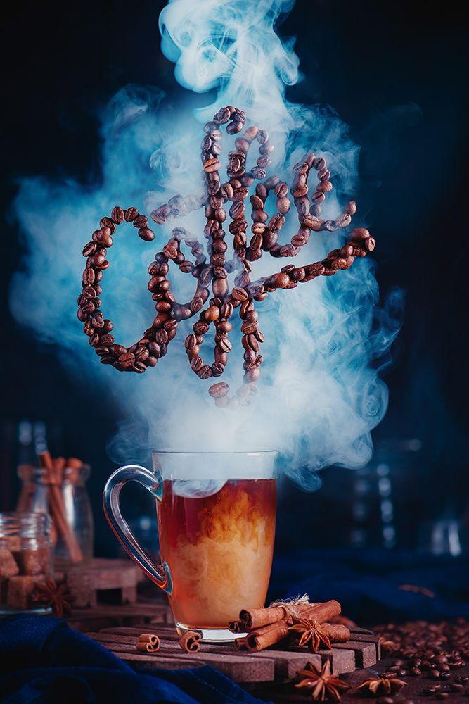 konfigurieren des Kunstdrucks in Wunschgröße Smell the coffee von Belenko, Dina