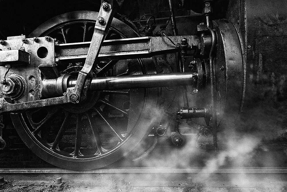 konfigurieren des Kunstdrucks in Wunschgröße Locomotive Breath von droste, holger