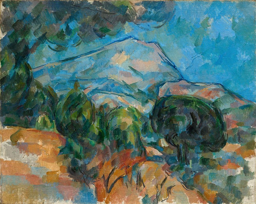 konfigurieren des Kunstdrucks in Wunschgröße Mount Sainte Victoire von Cezanne, Paul