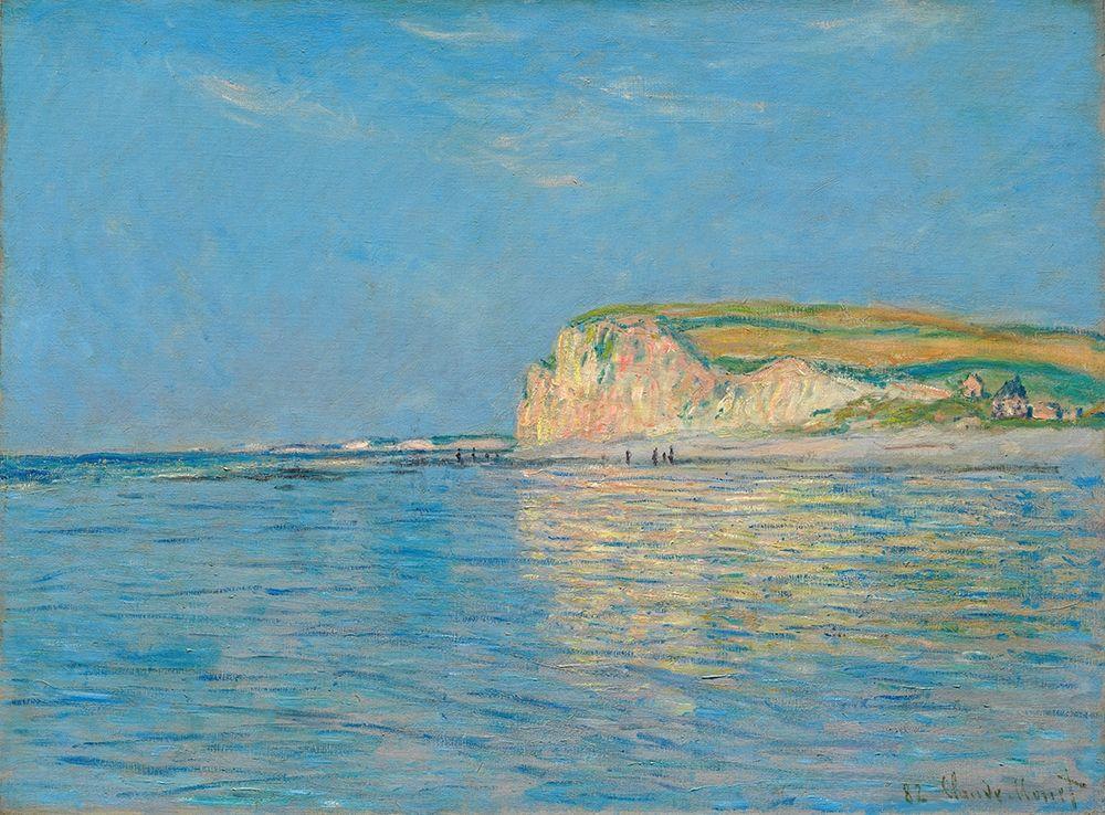 konfigurieren des Kunstdrucks in Wunschgröße Low Tide at Pourville near Dieppe 1882 von Monet, Claude